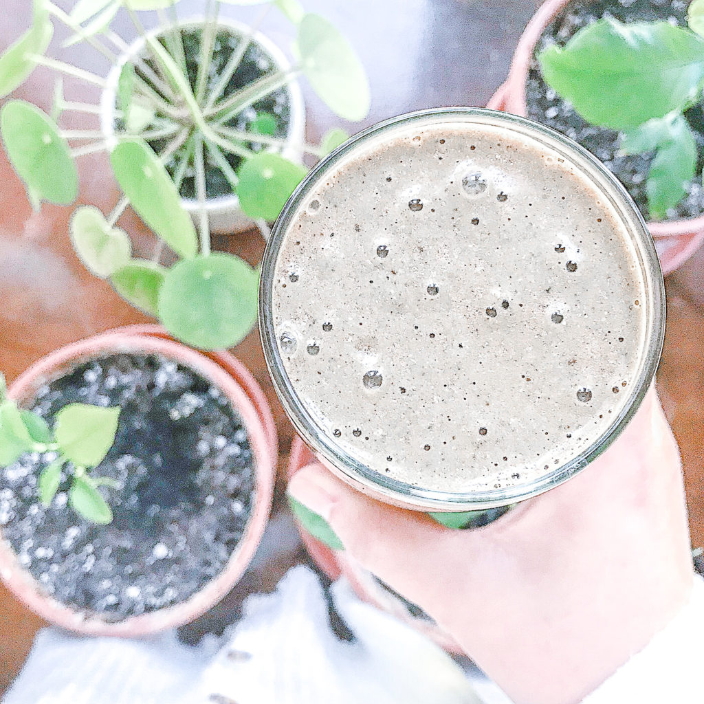 Cacao Almond Butter Smoothie to Fight Sugar Cravings